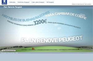 Plan Renove de Peugeot