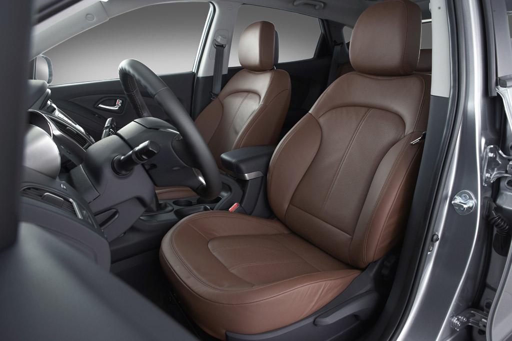 Hyundai Ix35 Hyundai ix35. Asientos delanteros.