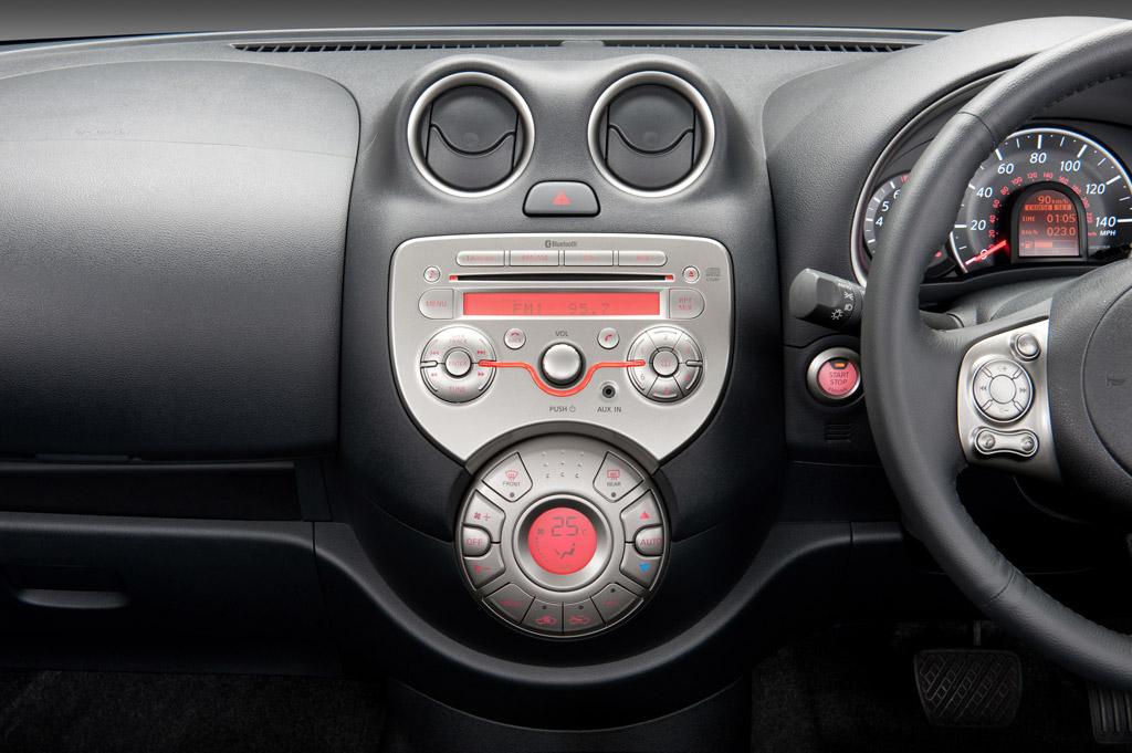 Nissan Micra Nissan Micra. Consola central.