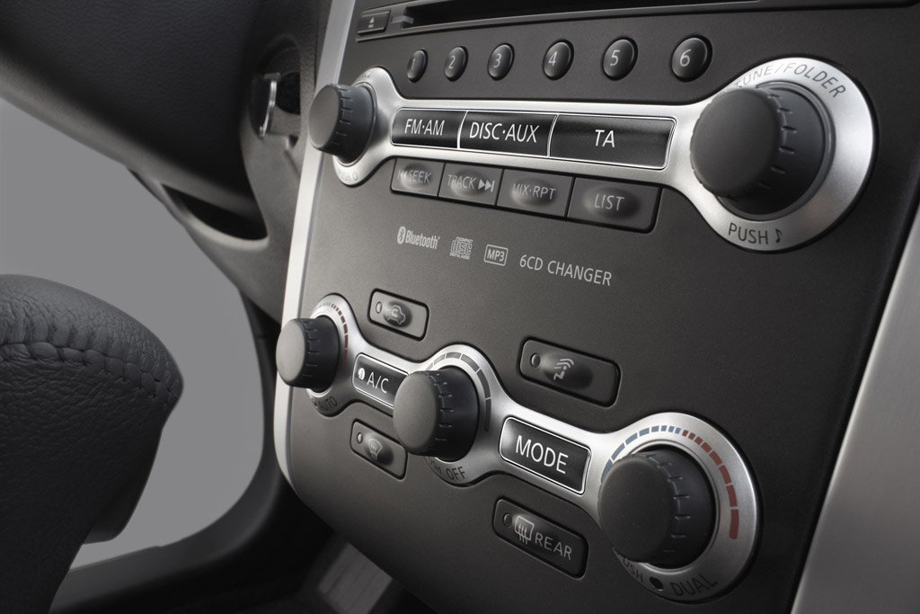 Nissan Murano Nissan Murano. Sistema de audio.