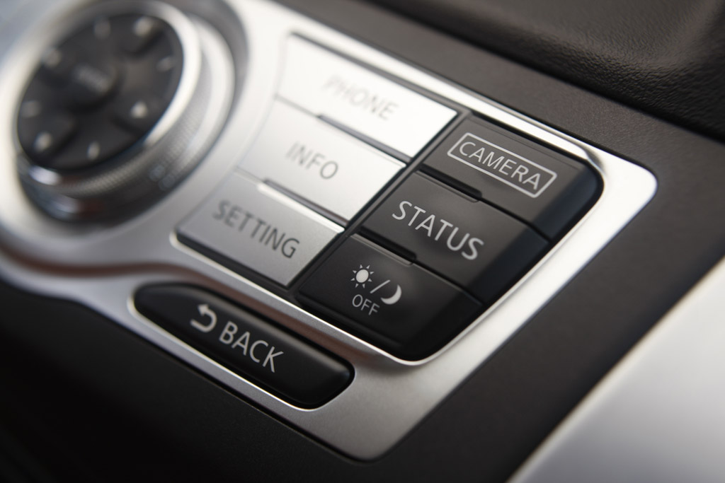 Nissan Murano Nissan Murano. Mandos del navegador.